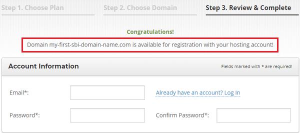 SiteGround Account Information