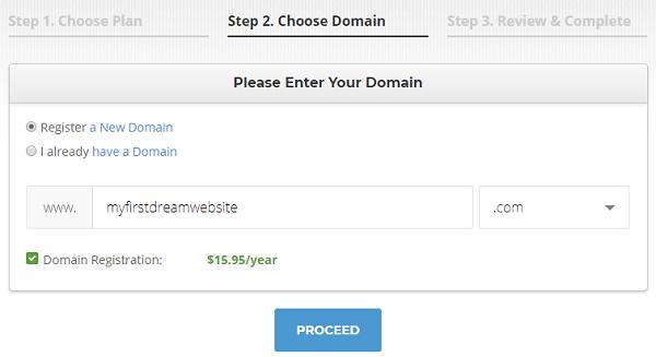 SiteGround Domain Name
