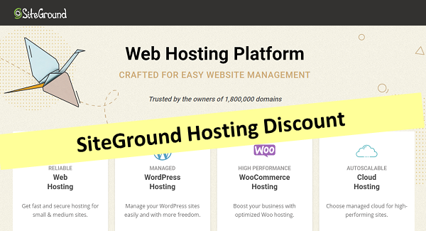 SiteGround Hosting Discount 2021 → Up to 70% OFF (Deal Verified)