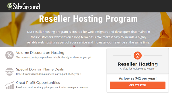 SiteGround Reseller Hosting 2021 – Free SSL Certificate + Free Setup