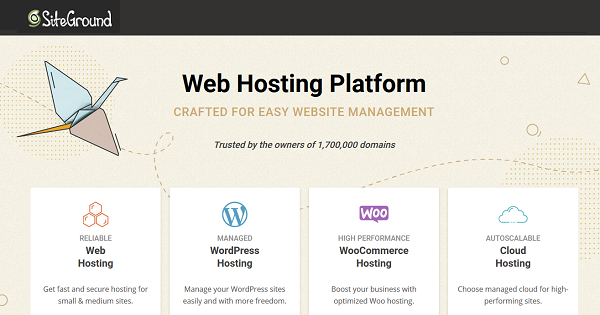 SiteGround Shared Hosting 2021 → Up to 70% OFF Promo Discounts