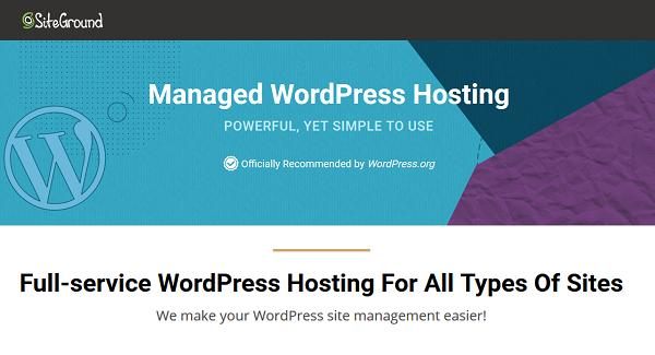 SiteGround WordPress Hosting Deals