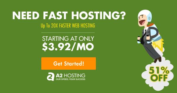A2Hosting Promo Discount