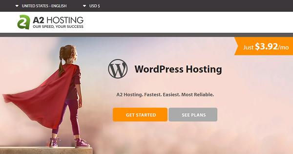 A2 Hosting WordPress 2021 → 51% OFF + Free SSL Certificate