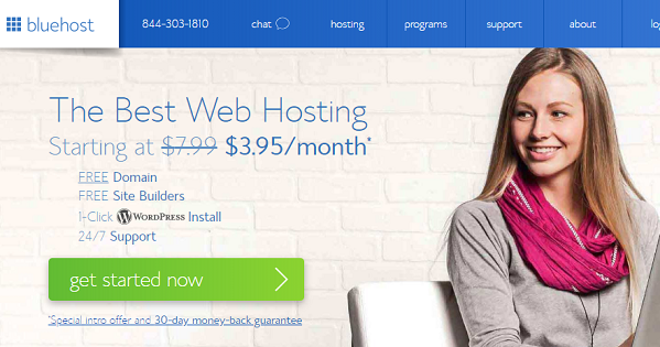 BlueHost Shared Hosting – Up to 74% OFF Promo Discounts
