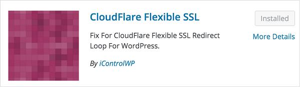 Cloudflare Flexible Free SSL WordPress Plugin