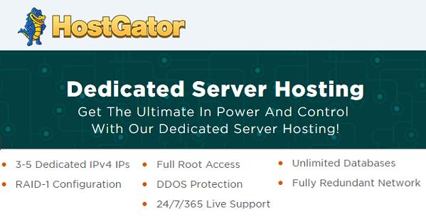 HostGator Dedicated Hosting Deals