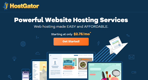 HostGator Shared Hosting 2021 → Up to 60% OFF + Free SSL Certificate