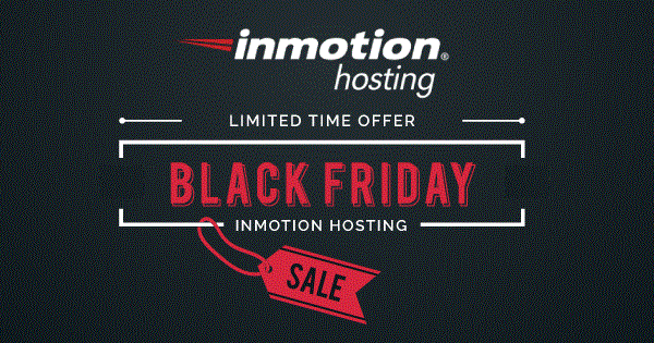 InMotion Black Friday 2021 Deals → 57% Discount ($2.95/Month)