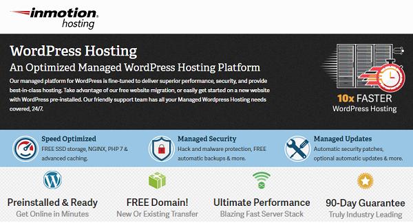 InMotion WordPress Hosting 2021 → Up to 38% OFF + Free Domain Name