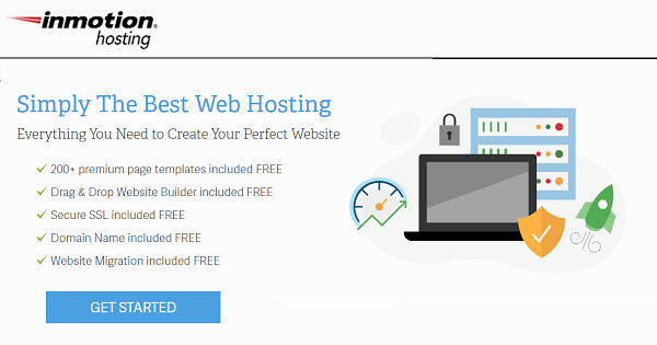 Inmotion Shared Hosting Services