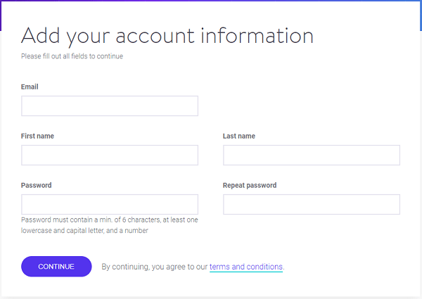 Kinsta WordPress Hosting-Account Information