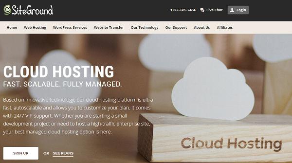 SiteGround Cloud Hosting Promo Discount