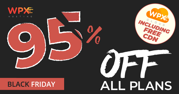 WPX Hosting - 95% OFF