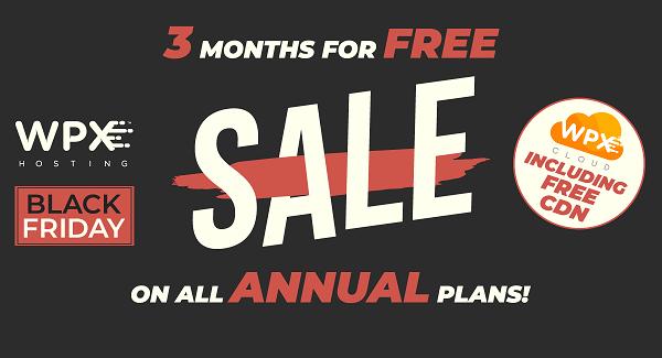 WPX Hosting Black Friday Deals